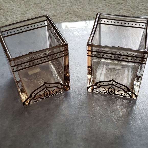 Moroccan theme candle holders